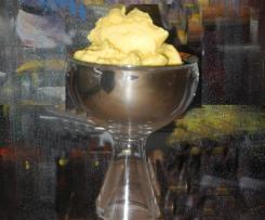 Pfirsisch-Eis für die Eismaschine