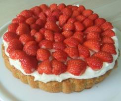 Himmlische Erdbeer-Pistazien-Torte