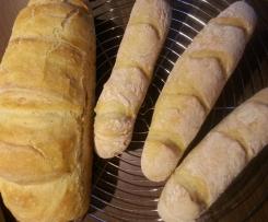 französisches Baguette super fluffig mit Dinkel