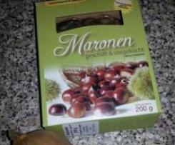 Schnelle Maronen-Creme-Suppe