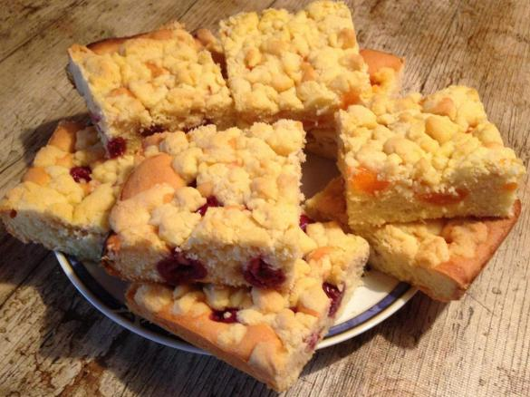 Streuselkuchen Mit Obst Saftig Und Lecker Von Dietzeridu Ein
