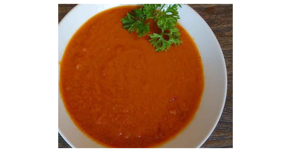 tomatensuppe nach oma lore von doro ehrle ein thermomix