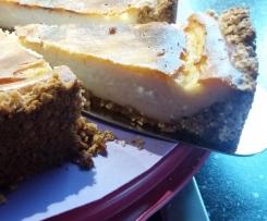 Glutenfreier Käsekuchen mit Schafsmilch-Joghurt ~ Ei-frei