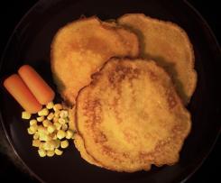 Pfannkuchen mit verstecktem Gemüse