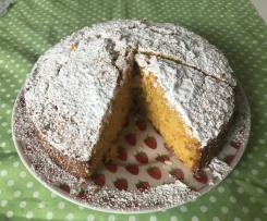 Karotten Kokos Kuchen