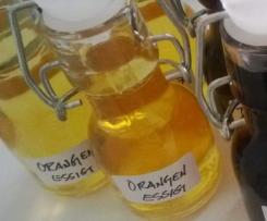 Orangen - Essig mit Kumquats und Rosmarin