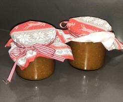 Kürbis Orangen Apfel Marmelade (Weihnachtsmarmelade)