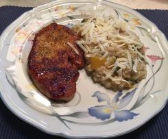 Gersten - Risotto mit Paprika und Zucchini