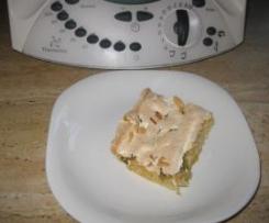 Rhabarberkuchen (rechteckiges Blech) mit Baiser