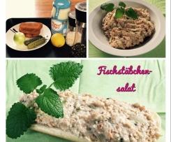 Fischstäbchensalat