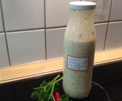 Joghurt-Salat-Dressing nach Thousand-Island-Art
