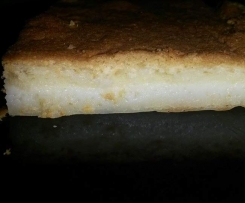 Magischer Kuchen 3 Schichten