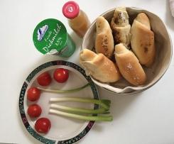 Chifle - Rumänische Frühstücksbrötchen