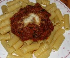 Bolognese - Palermo zu Spaghetti oder Rigatoni