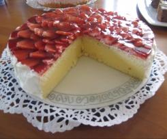Erdbeer-Pfirsich-Torte, Finessen 3/2014