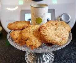 Karamell Dinkel Cookies