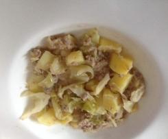 Spitzkohl-Kartoffel-Hackfleisch-Topf (All-in-One)