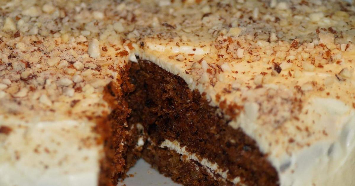 carrot cake mit cream cheese frosting wie bei starbucks von deline ein thermomix rezept aus. Black Bedroom Furniture Sets. Home Design Ideas
