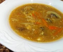 Pekingsuppe süß-sauer (WW geeignet)