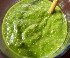 Grüner smoothie der 3. ;)