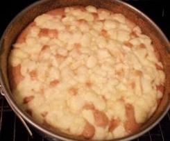 Gedeckter Apfelkuchen (DDR Rezept)