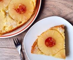 Ananaskuchen vegan Obstkuchen