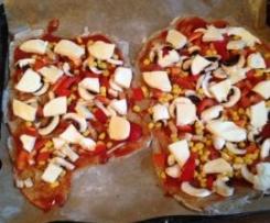 Pizzateig aus Roggenmehl (MB-tauglich; Rezept auch m. Belag )