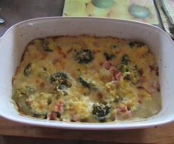 Broccoli- Kartoffelauflauf
