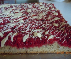 Johannisbeer-Mohnkuchen
