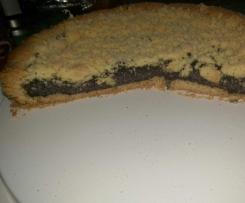 Vanille-Mohn-Streuselkuchen