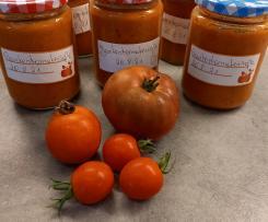 Variation beste Tomatensauce der Welt!  Soße auf Vorrat!