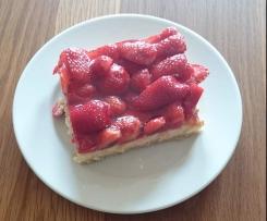 Erdbeer - Käse - Kuchen