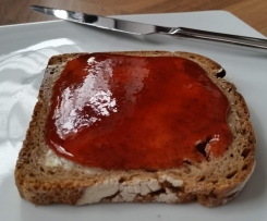 Erdbeer-Rucola Marmelade mit Pfiff