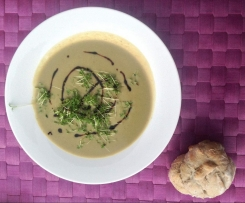 Gurken-Kartoffel-Suppe