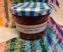 Variation Marmeladen-Gelee aus Weintrauben