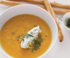 Tina`s leckere Möhren- Kokos Suppe