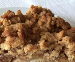 Crunchige Streusel als Topping für Kuchen und Muffins