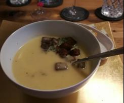 Fränkische Mostsuppe mit Zimt-Croutons