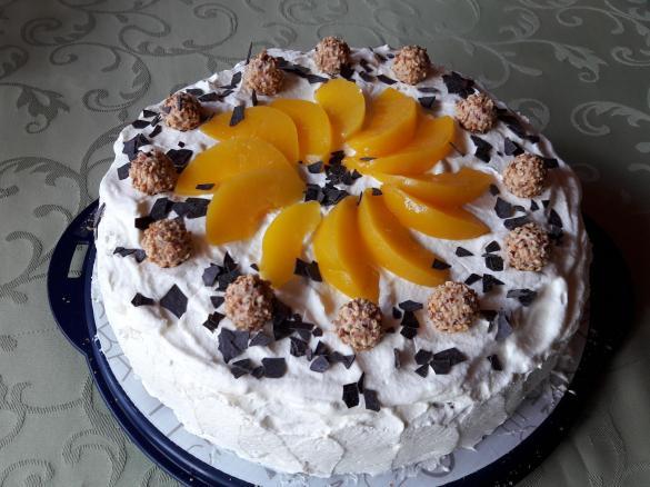 Giotto Torte Mit Pfirsichen Von Tinavier Ein Thermomix Rezept Aus