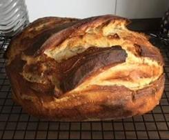 Variation von Dinkel-Roggen Brot Variante mit Buttermilch (C-DR-Brot)