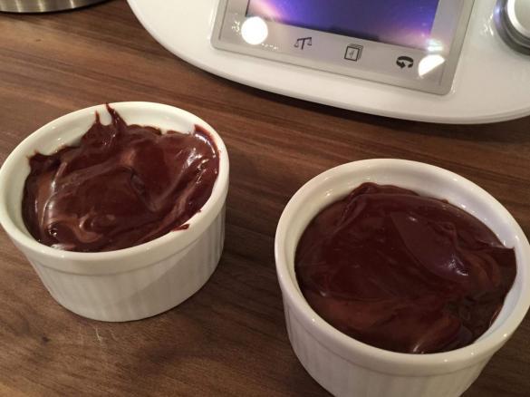 Schokoladensouffle Mit Flussigem Kern Von Mac203 Ein Thermomix