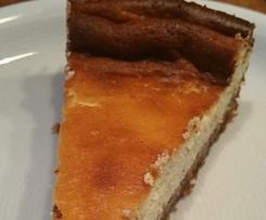 Käsekuchen mit Mandelboden - low carb - keto