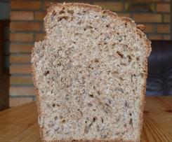 Dinkel-Kamut-Brot, vegan