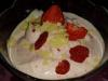 Frozen Yoghurt - Erdbeer mit weißer Schokolade
