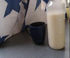 Hafermilch, ohne Kochen