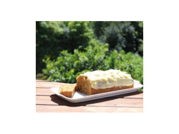 Moehren Walnuss Kuchen Mit Frischkaese Guss Von Ankekitchenqueen