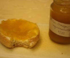 Kürbis-Orangenmarmelade mit Ingwer