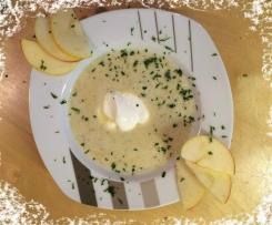 Apfelsuppe mit Chilli