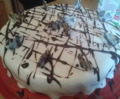 Oreo-Sahne Kuchen