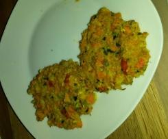Gemüse Patties / Gemüsefrikadellen